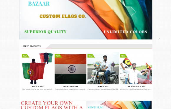 FLAGBAZAAR WEBSITE
