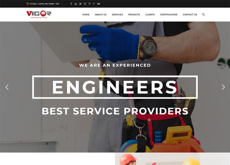 Vigor Web Design Company Pondicherry Xiologics